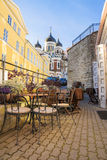 Alexander Nevsky Cathedral in Tallinn, Estonia Stock Photography