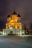 Alexander Nevsky Cathedral in Tallinn Royalty Free Stock Photos