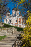 Alexander Nevsky Cathedral. Tallinn, Estonia Royalty Free Stock Images