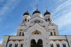 Alexander Nevsky Cathedral, Tallinn. Stock Images