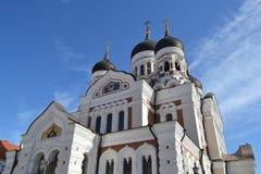 Alexander Nevsky Cathedral, Tallinn. Stock Photo