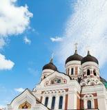 Alexander Nevsky Cathedral in Talllinn Royalty Free Stock Photos