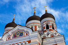 Alexander Nevsky Cathedral in Talllinn, Estonia Stock Photo