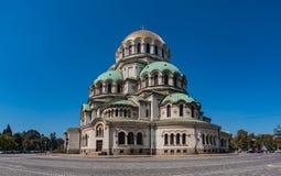 Alexander Nevsky Cathedral VIII royalty-vrije stock foto's
