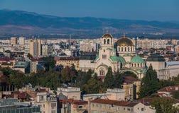Alexander Nevsky Cathedral X royalty-vrije stock fotografie