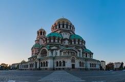 Alexander Nevsky Cathedral XI stock afbeeldingen