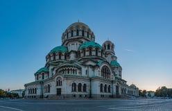 Alexander Nevsky Cathedral XII royalty-vrije stock fotografie