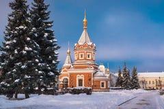 Alexander Nevsky Chapel in Yaroslavl, Russia fotografia stock libera da diritti