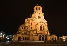 Alexander Nevsky church Royalty Free Stock Photo
