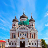 Alexander Nevsky church Royalty Free Stock Image