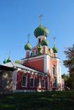 Alexander Nevsky Church i staden av Pereslavl-Zalessky Ryssland Royaltyfria Foton