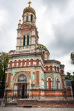 Alexander Nevsky Church, Lodz Stockfotos