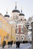 Alexander Nevsky Church in Tallinn, Estonia Royalty Free Stock Photography