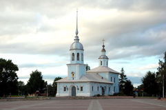 Alexander Nevsky Church in Vologda, Russia Stock Image