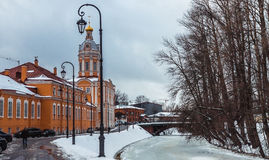 Alexander Nevsky Lavra. In the Saint-Petersburg Royalty Free Stock Photo