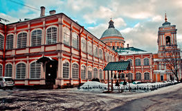 Alexander Nevsky Lavra. In the Saint-Petersburg Royalty Free Stock Photos