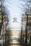 Alexander Nevsky Lavra in Saint-Petersburg Russia Royalty Free Stock Photo