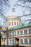 Alexander Nevsky Lavra in Saint-Petersburg Russia Stock Photo