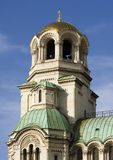 Bell tower of Alexander Nevsky  Cathedral, Sofia, Bulgaria Royalty Free Stock Photos