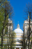 Alexander nevsky monastery in Saint-Petersburg Royalty Free Stock Images