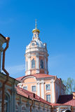 Alexander nevsky monastery in Saint-Petersburg Royalty Free Stock Photography