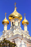 Alexander Nevsky Orthodox church Stock Photos