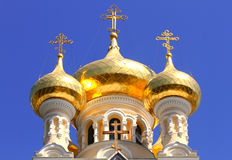 Alexander Nevsky Orthodox church Royalty Free Stock Photography