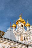 Alexander Nevsky Orthodox church in Yalta. Royalty Free Stock Photo
