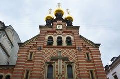 Alexander Nevsky Russian Orthodox Church, Copenhague, Danemark photos libres de droits