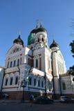 Alexander Newski Cathedral in Tallinn Stock Photography