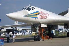 Alexander Novikov airplane at MAKS International Aerospace Salon Stock Images