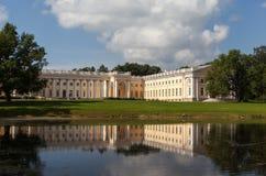 Alexander Palace Alexander Park pushkin Ryssland Arkivfoto