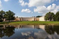 Alexander Palace Alexander Park pushkin Ryssland Fotografering för Bildbyråer
