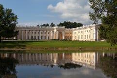 Alexander Palace Alexander Park pushkin Ryssland Arkivbild