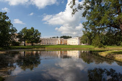 Alexander Palace Alexander Park pushkin Ryssland Royaltyfri Fotografi