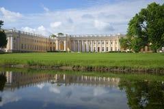 Alexander Palace no dia de verão de Tsarskoye Selo St Petersburg Fotografia de Stock Royalty Free