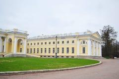 Alexander Palace in Tsarskoye Selo Stock Images