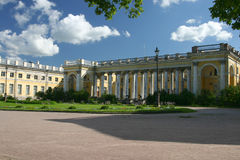 Alexander-Palast in Tsarskoye Stockfotografie