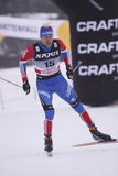 Alexander Panzhinskiy - cross country skier Royalty Free Stock Images