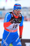 Alexander Panzhinskiy - cross country skier Stock Photography