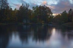 Alexander Park Pushkin, St Petersburg Royaltyfri Foto