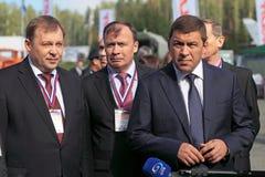 Alexander Petrov, Alexey Orlov e Evgeny Kuyvashev Fotografia Stock Libera da Diritti