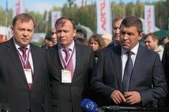 Alexander Petrov, Alexey Orlov, Evgeny Kuyvashev Stock Image
