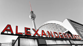 Alexander Platz, Berlin, Germany. Royalty Free Stock Photos