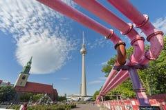 alexander platz Berlin Germany fotografia royalty free