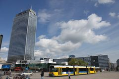 Alexander Platz in Berlin Stock Photography