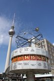 Alexander Platz with Tv Tower Royalty Free Stock Photo