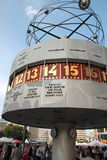 Alexander Platz Universal Clock Stock Photo