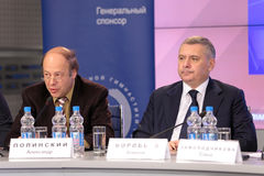 Alexander Polinsky and Alexei Vorobev Royalty Free Stock Photo
