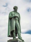 alexander pomnikowy Pushkin Fotografia Royalty Free